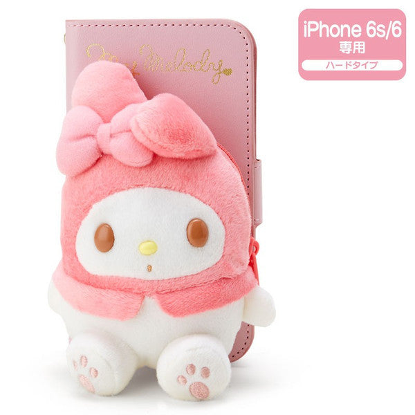 My Melody iPhone 6 6s Case Cover Plush Pass Sanrio Japan