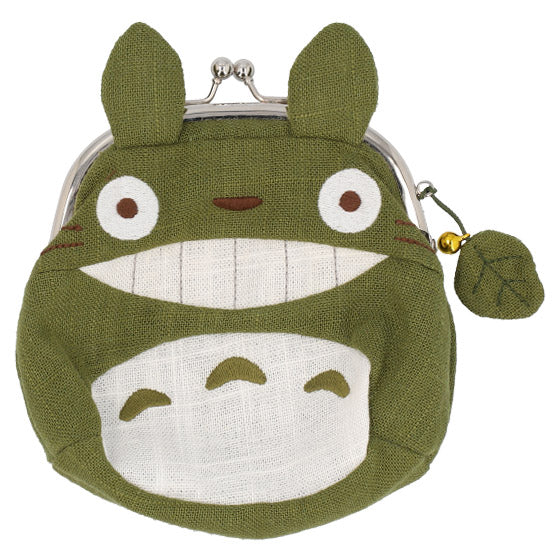 My Neighbor Big Totoro Clasp Pouch Wa Japanese style Green Studio Ghibli Japan