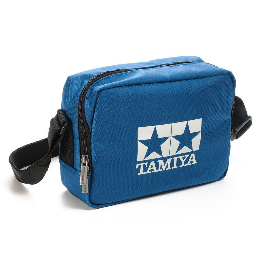 Box Shoulder Bag Accessory Storage ver. 2 Blue TAMIYA Japan