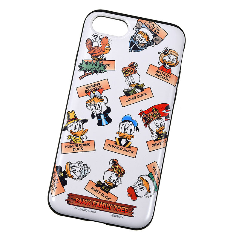 Donald iPhone 6 6s 7 8 Case Cover THE DUCK FAMILY Disney Store Japan