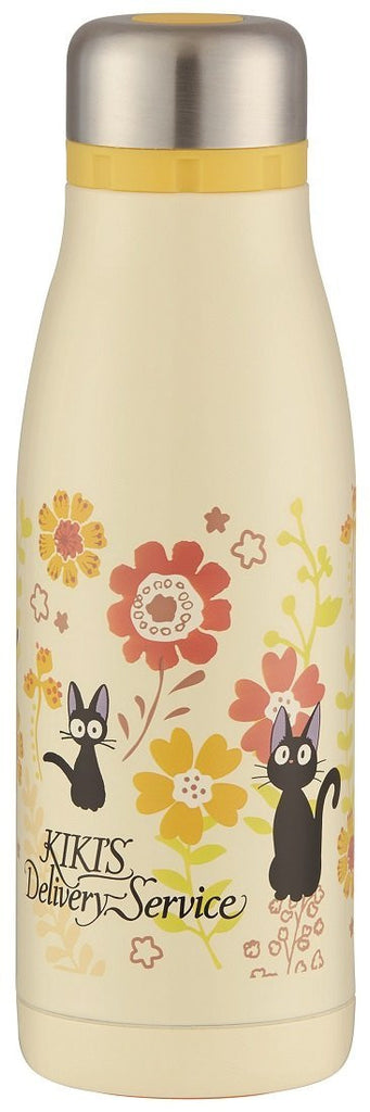 Kiki's Delivery Service Stainless Bottle 400ml Gerbera STY4 Ghibil Japan SKATER