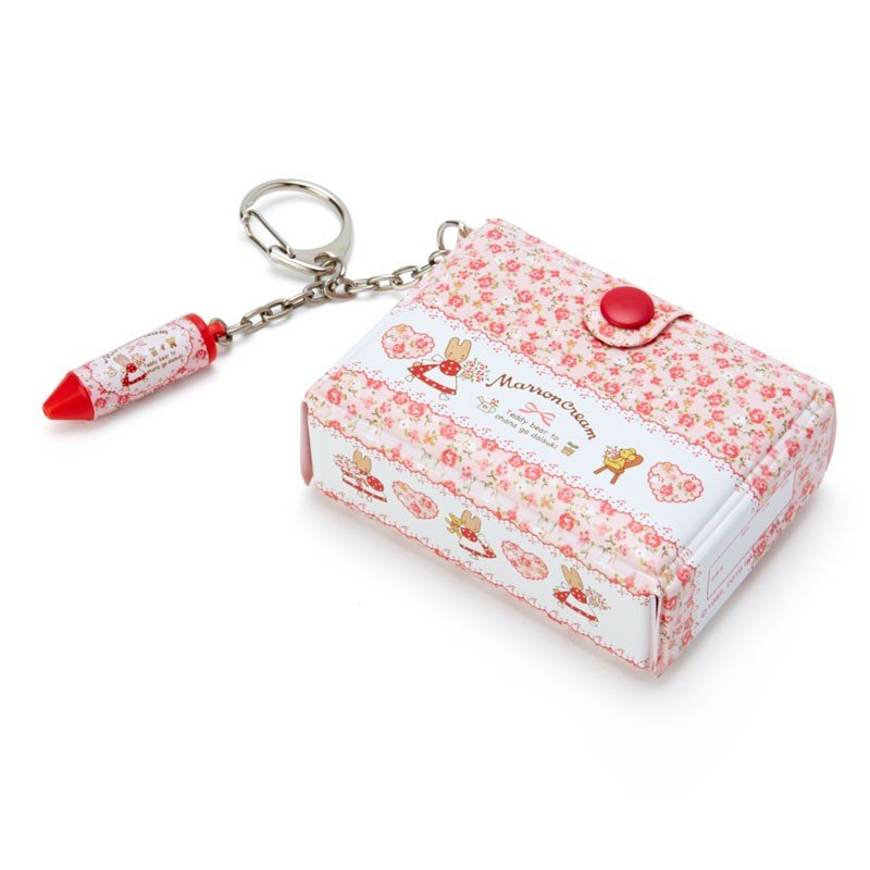 Marron Cream Keychain Key Holder Tool Box shape Sanrio Japan