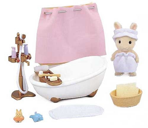 Sylvanian Families Furniture Bath Set Ka-605 Japan Calico Critters