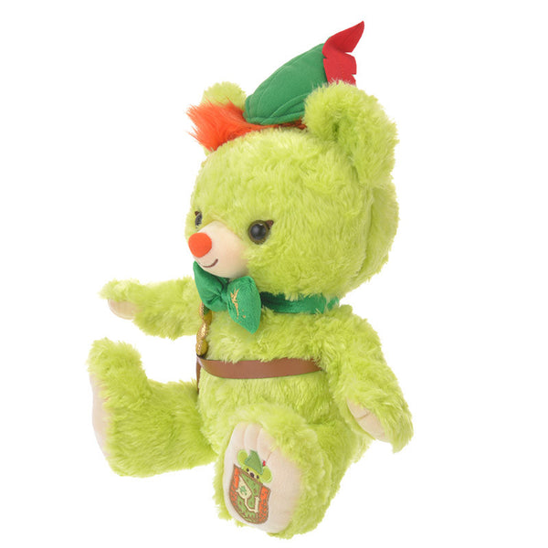 UniBEARsity Bread Peter Pan Plush Doll Disney Store Japan