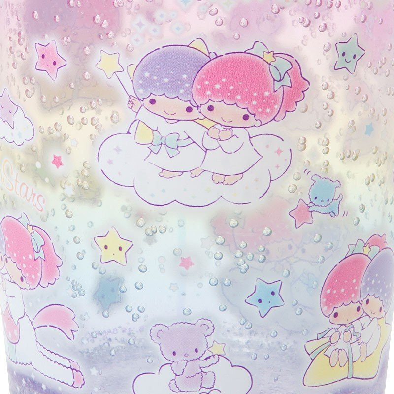 Little Twin Stars Kiki Lala Clear Tumbler Plastic Cup Sanrio Japan 2019