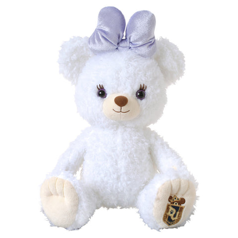 UniBEARsity Disney Store Japan PUFFY Plush Bear White (can wear costume)
