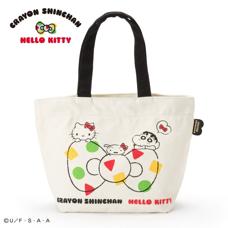 742426fdec8a Hello Kitty   Crayon Shinchan mini Tote Bag Sanrio Japan