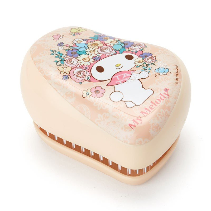My Melody On-the-Go Detangling Hairbrush Flower Sanrio Japan