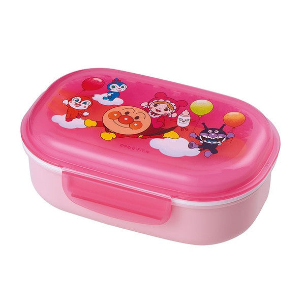 Anpanman Lunch Box with Fork Pink 270ml Japan