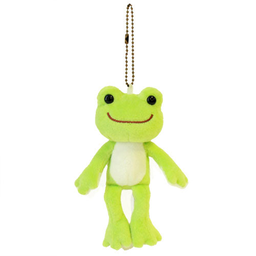 Pickles the Frog Plush Keychain Basic Japan 100757-17