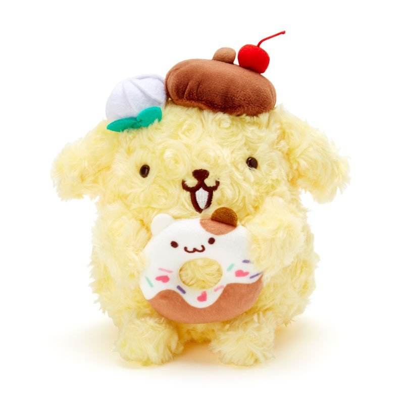 Pom Pom Purin & Muffin Plush Doll S Pudding a la mode Sanrio Japan