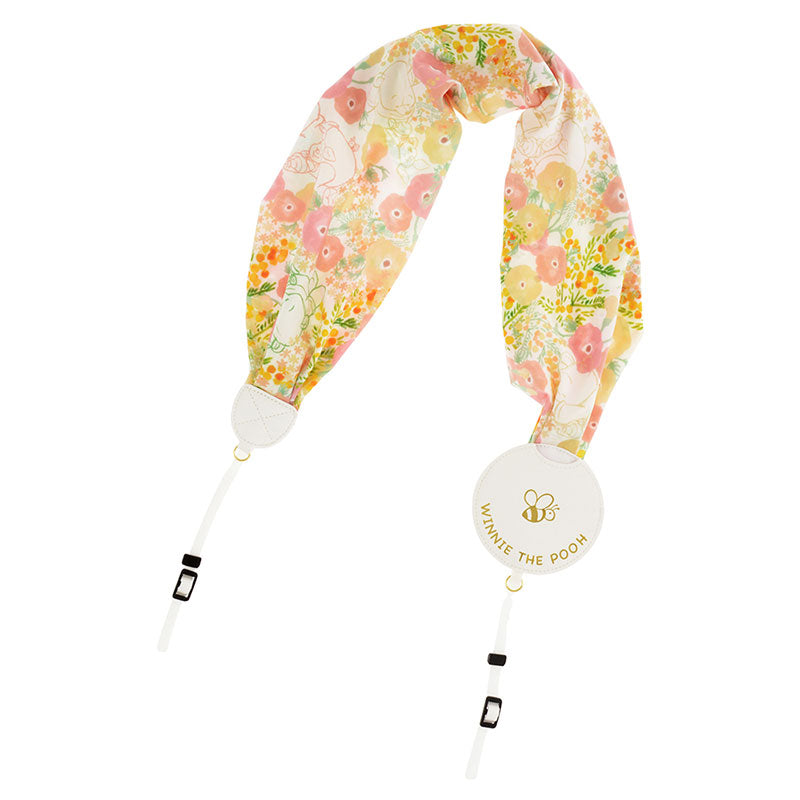 Winnie the Pooh & Piglet Camera Strap Scarf style Disney Store Japan
