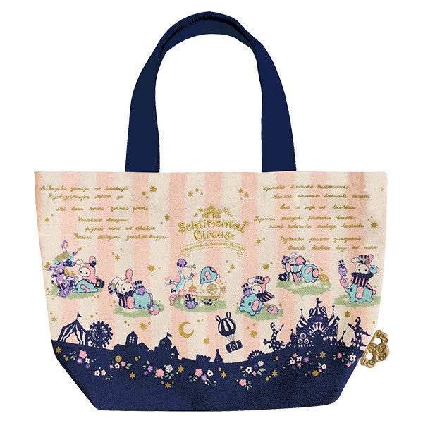 Sentimental Circus Canvas Tote Bag Mouton Hometown San-X Japan