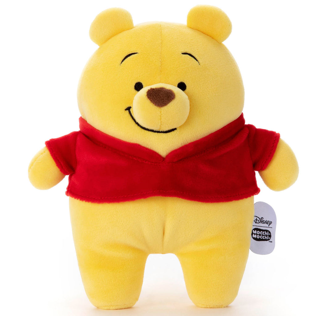Winnie the Pooh Plush Doll S Mocchi-Mocchi- Disney Takara Tomy Japan