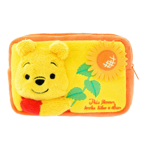 Stuffed Pouch - Winnie the Poon HUNNY DAY Disney Store Japan