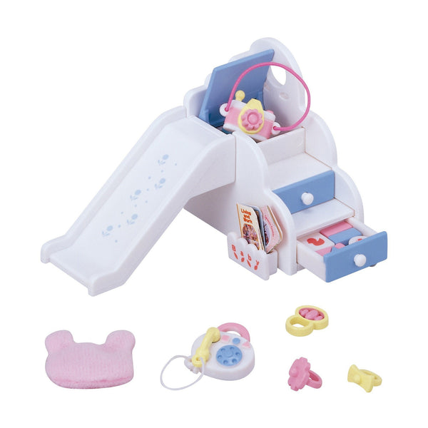 Furniture Baby Slide Set Ka-208 Sylvanian Families Japan Calico Critters