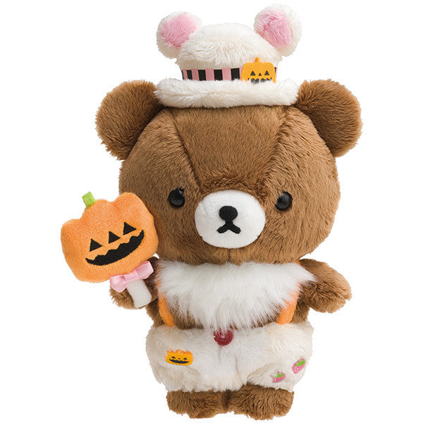 Chairoikoguma Plush Doll Halloween 2018 San-X Japan Rilakkuma