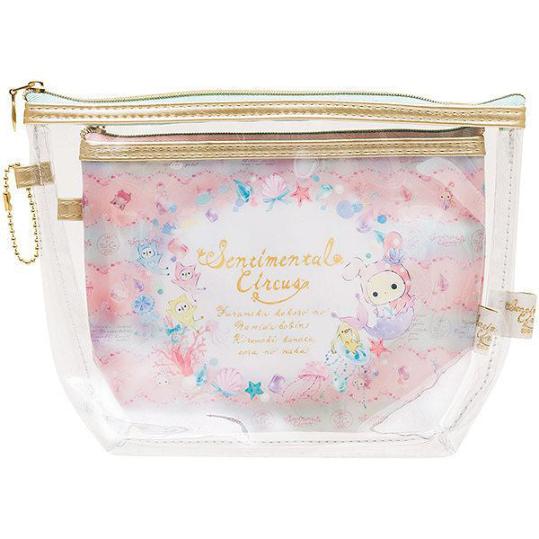 Sentimental Circus Clear Pouch Set Tears Bottle San-X Japan
