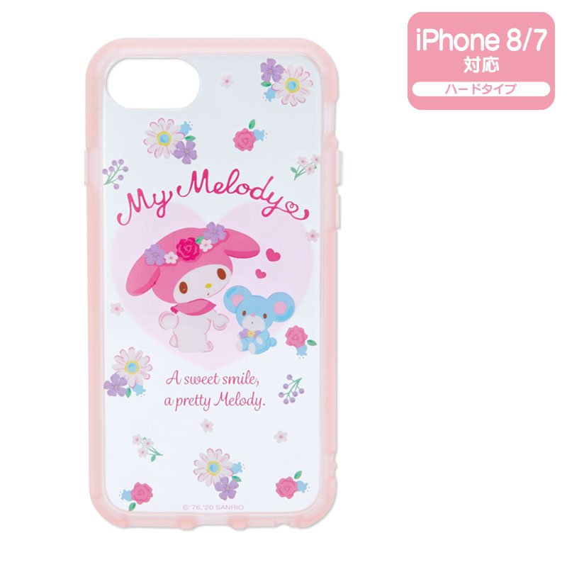 My Melody iPhone 7 8 Case Cover IIIIfi+ Clear Sanrio Japan