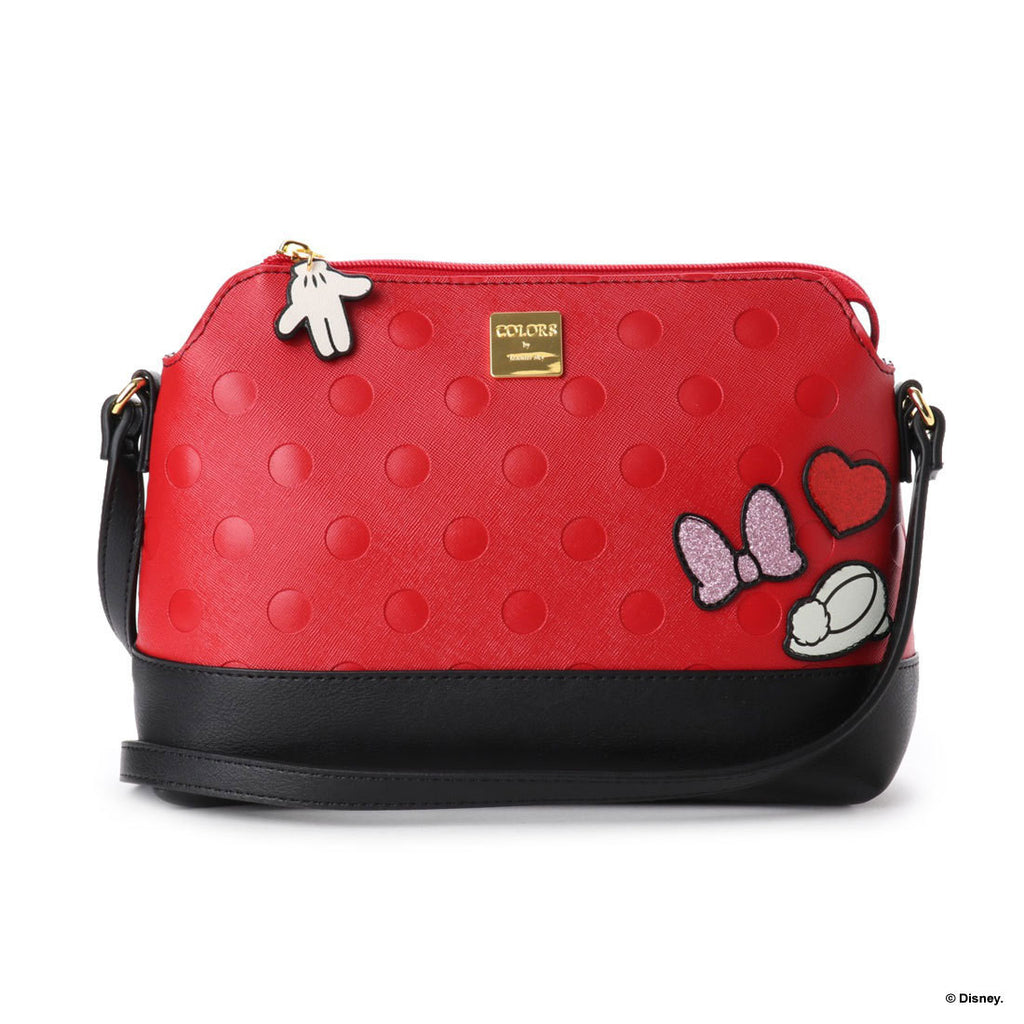 Minnie Shoulder Bag Red D23 Disney COLORS by Jennifer sky Japan