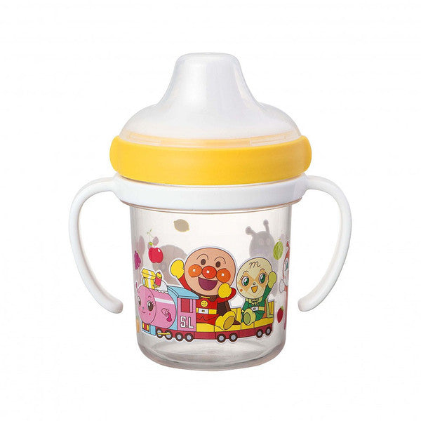 Anpanman Baby Clear Spout Mug Cup 200ml Japan Kids KK-309
