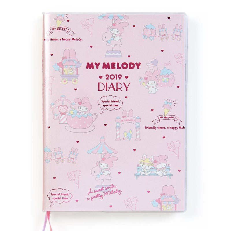 My Melody 2019 Schedule Planner Book Diary B6 Weekly Block Sanrio Japan
