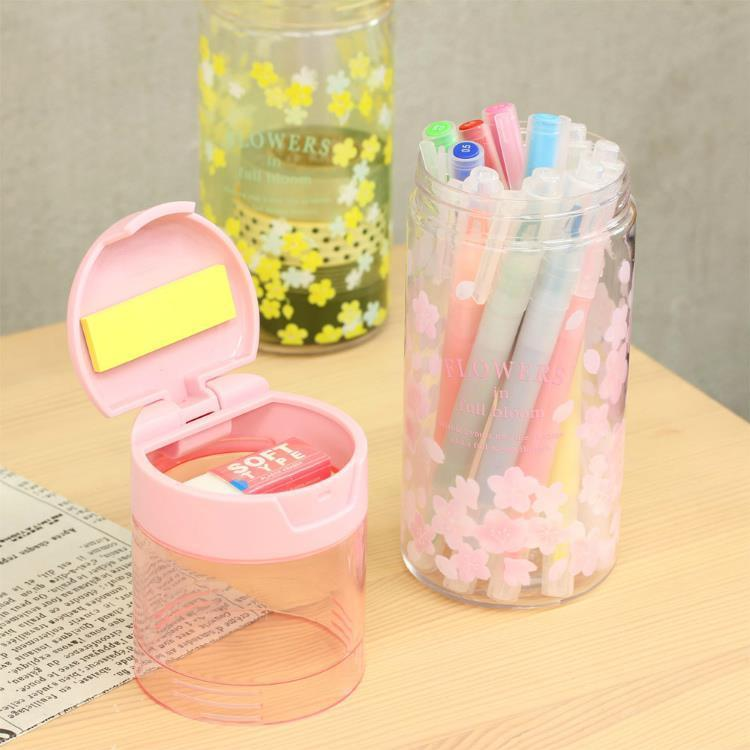 Bottle Shape Pen Case Sakura Japan