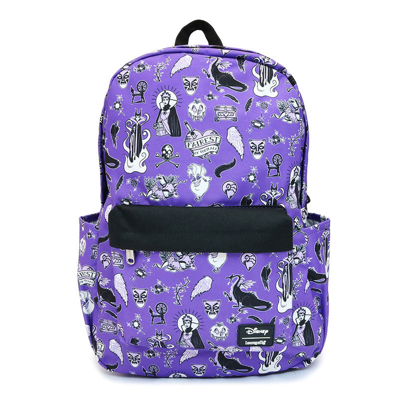 Disney Villains Backpack Violet Loungefly Disney Store Japan