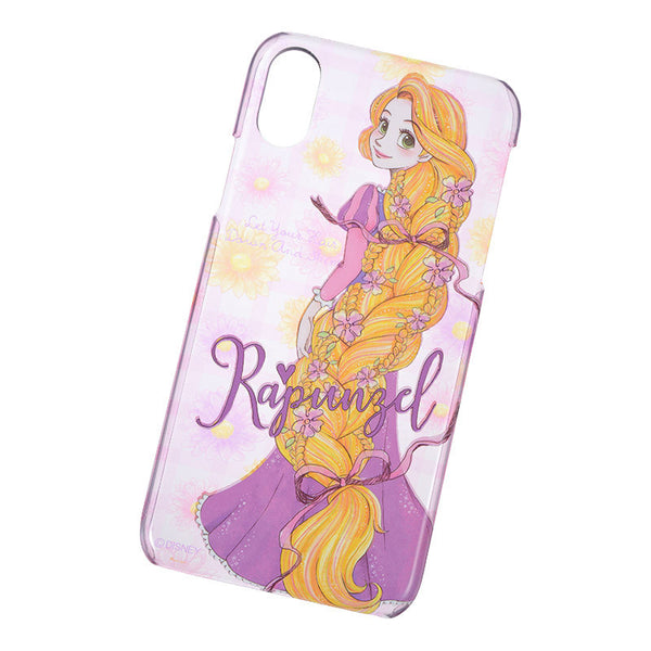 Rapunzel iPhone X Case Cover urukira Glitter Disney Store Japan Princess