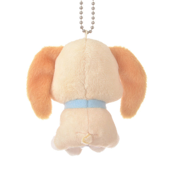 Lady Plush Keychain minimini Disney Store Japan Lady and the Tramp