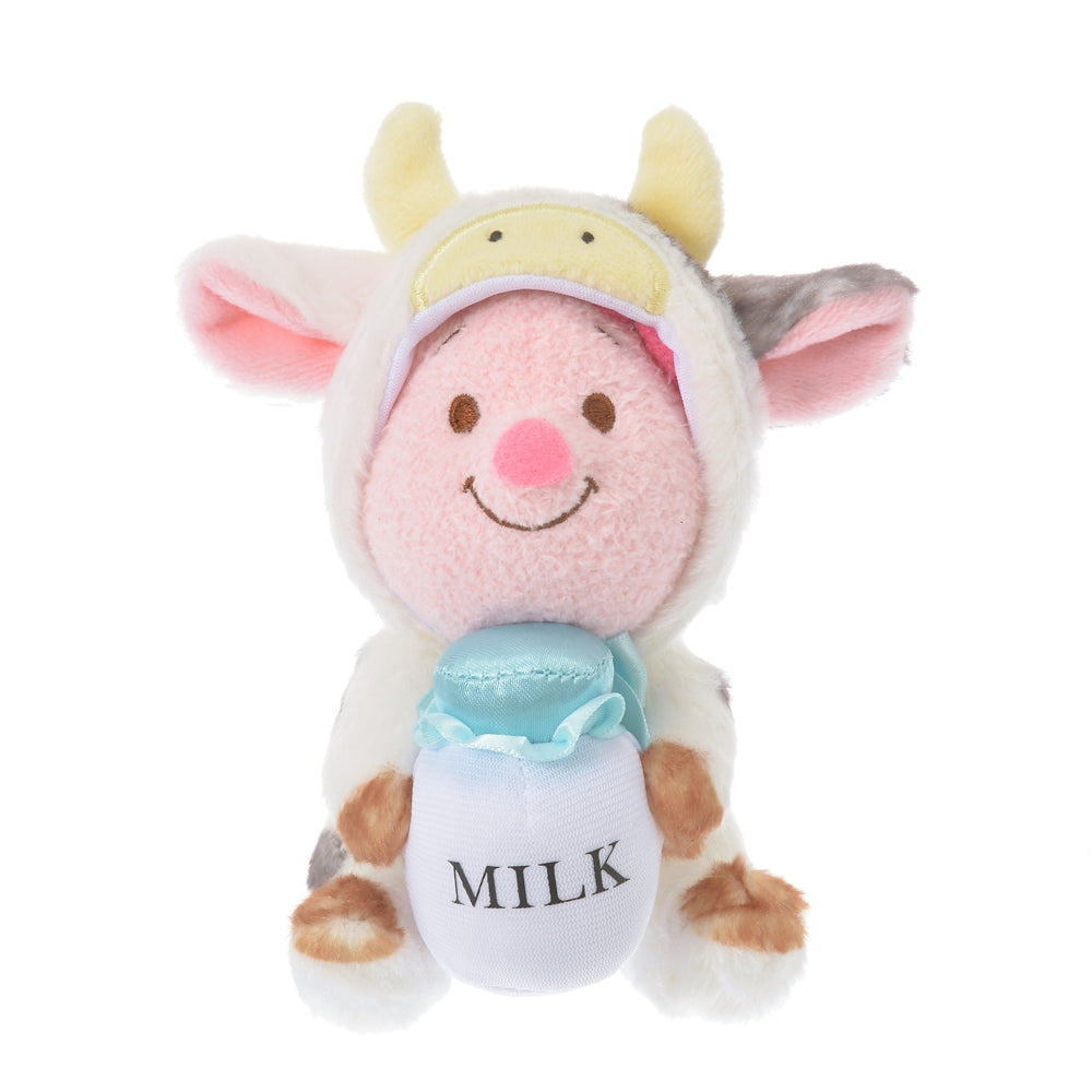 Piglet Plush Doll Eto Zodiac 2021 Cow Disney Store Japan New Year Winnie Pooh