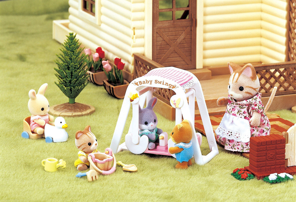 Furniture Baby Swing Set Ka-208 Sylvanian Families Japan Calico Critters