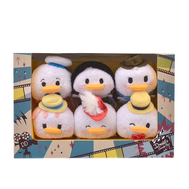 Donald Tsum Tsum Plush Doll mini S 6 Short Films BOX Set Disney Store Japan