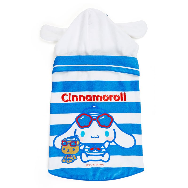 Cinnamoroll Hooded Towel Marine Sanrio Japan