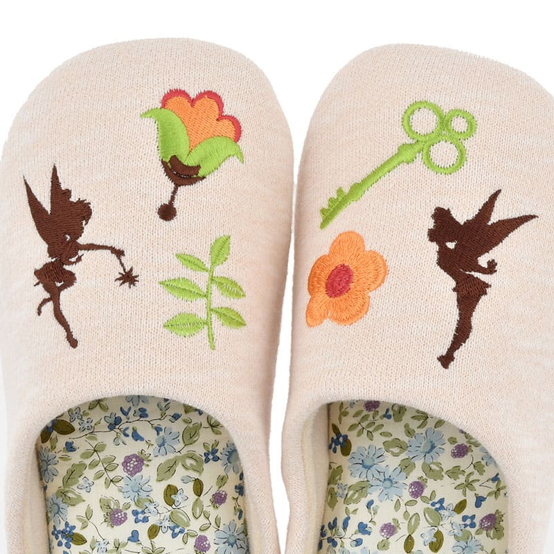 Tinker Bell Slipper M Flower Low resilience Disney Store Japan Peter Pan