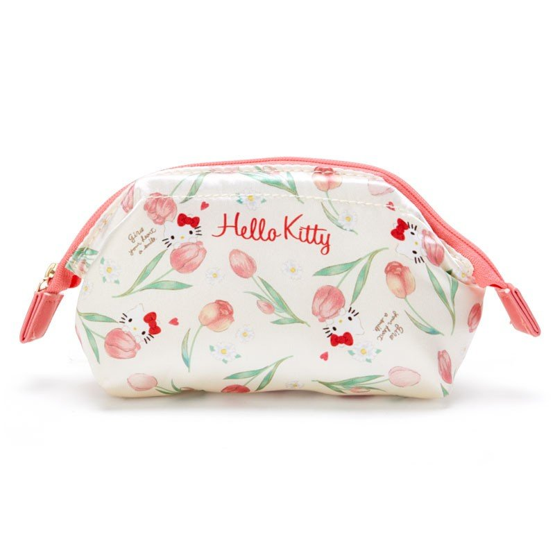Hello Kitty Pouch Flower Cosmetics Sanrio Japan