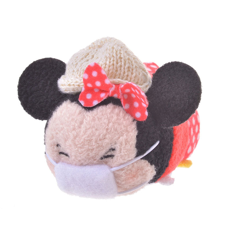 Minnie Tsum Tsum Plush Doll mini S KAFUN 2020 Pollen Disney Store Japan