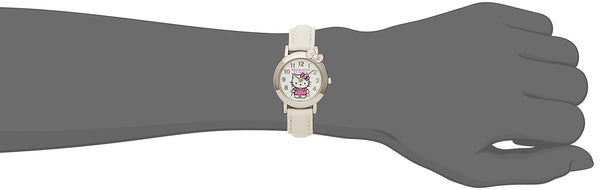 Hello Kitty Wrist Watch Waterproof White HK23-002 CITIZEN Q&Q Japan Sanrio
