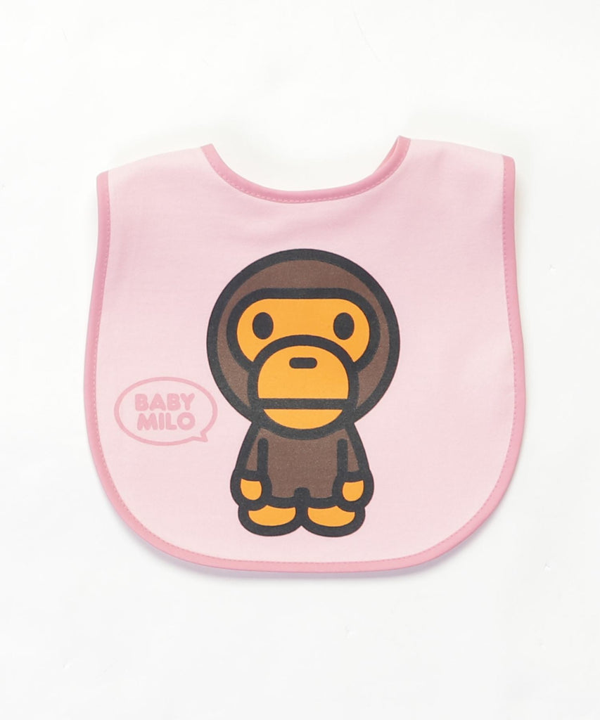 BABY MILO BIB KB Pink A BATHING APE Japan
