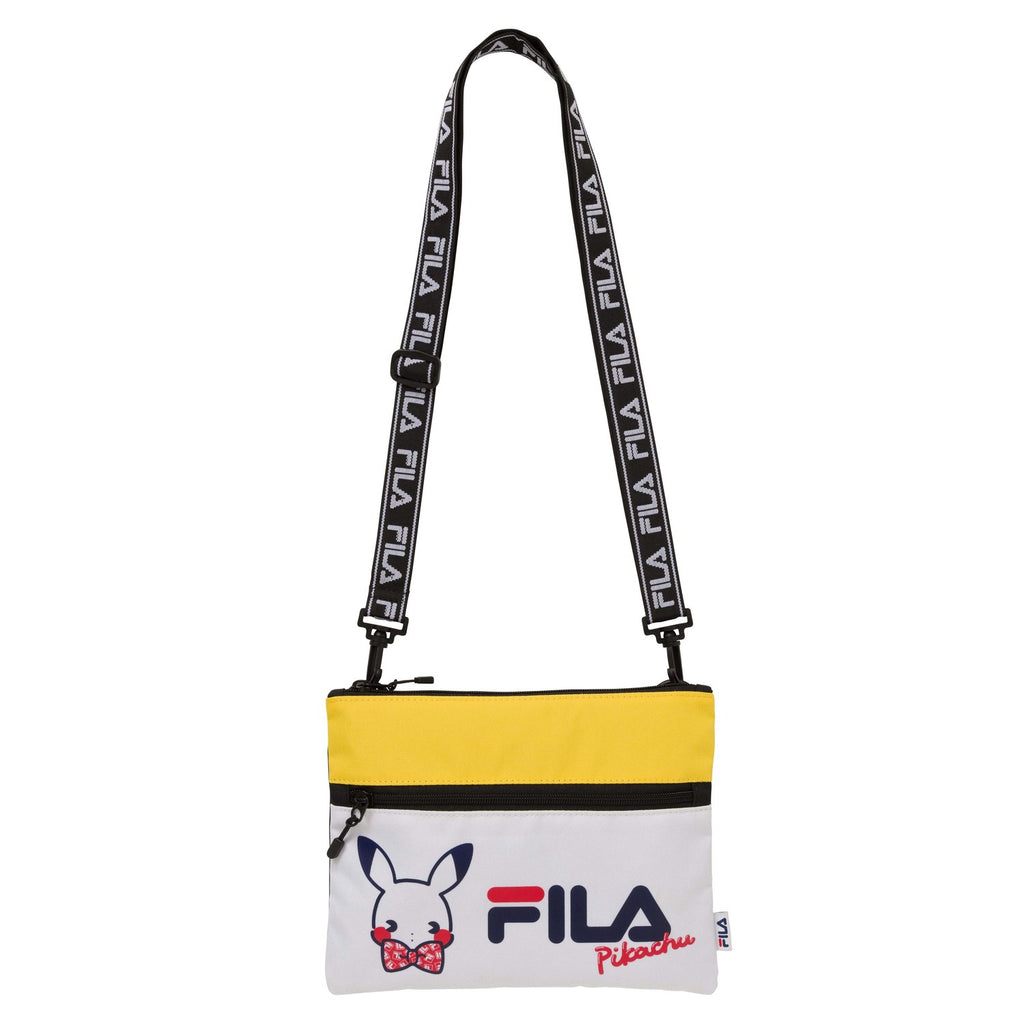 Pikachu Sacoche Shoulder Bag Psycho Soda Pokemon Center FILA Japan Original