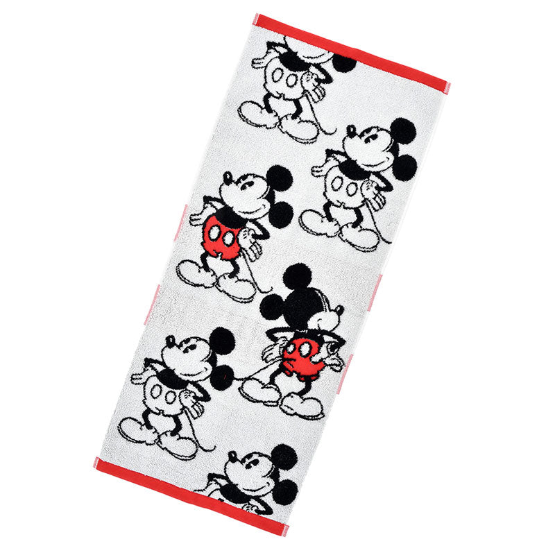 Mickey Face Towel Color Disney Store Japan