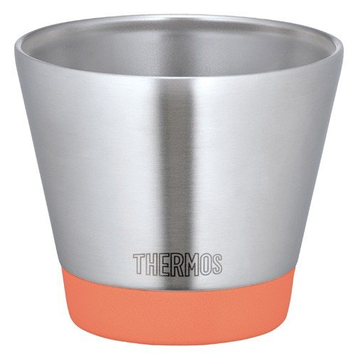 Thermos Vacuum Insulation Cup Stainless Tumbler 300ml JDD-301-CA Carrot Japan