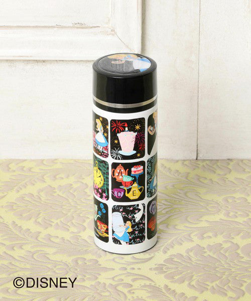 Alice in Wonderland Stainless Bottle Tumbler 350ml Afternoon Tea Japan Disney