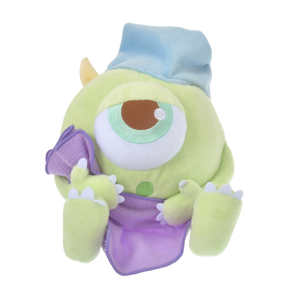 Monsters Inc Mike Plush Doll Gussuri Sleeping Disney Store Japan
