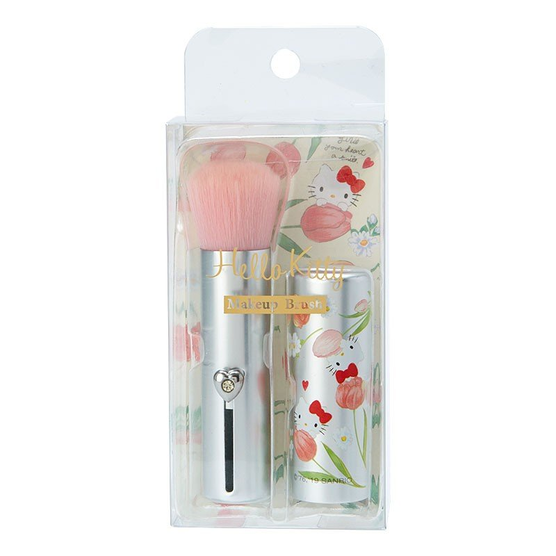 Hello Kitty Makeup Brush Flower Cosmetics Sanrio Japan