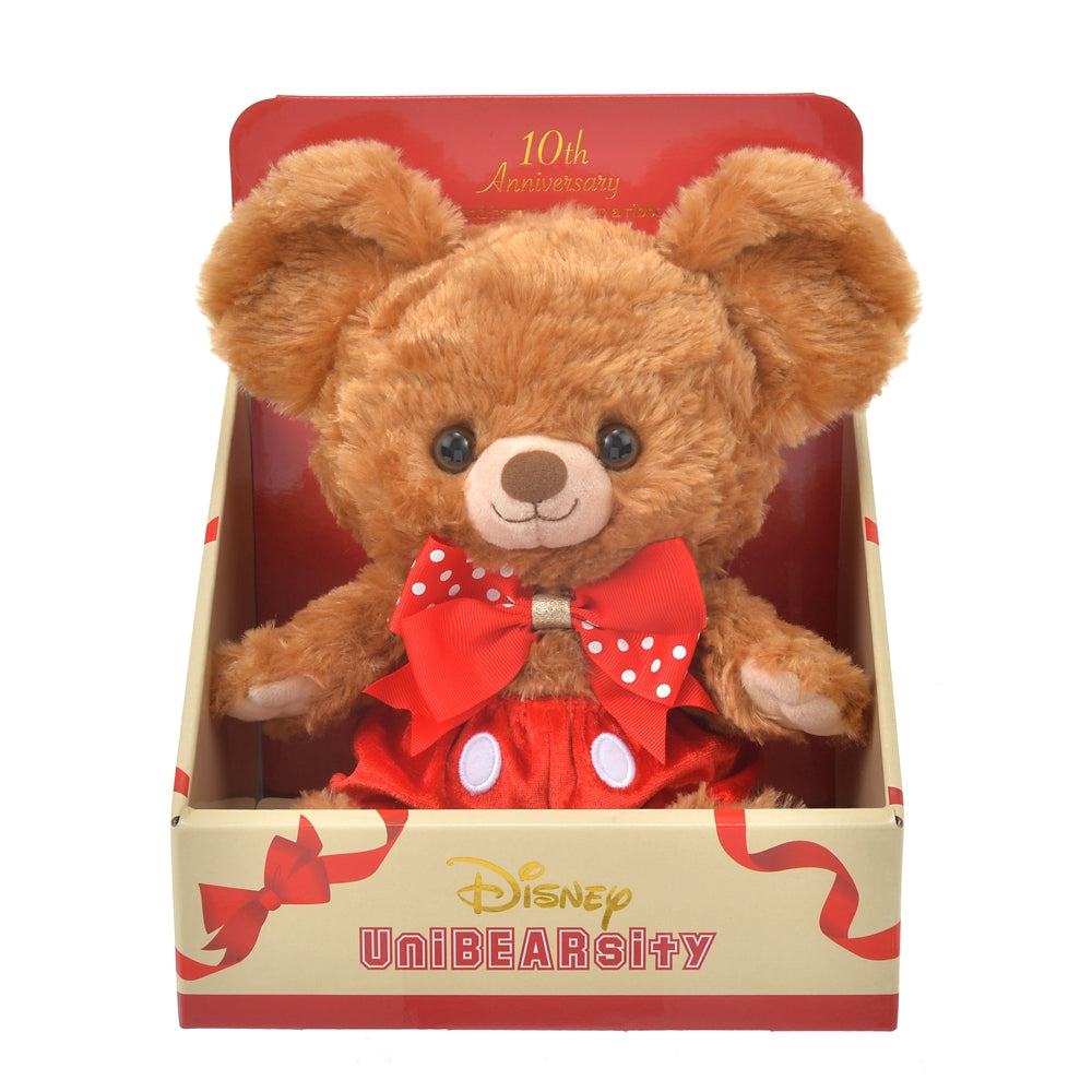 Mocha Plush Doll S UniBEARsity 10th Anniversary Disney Store Japan