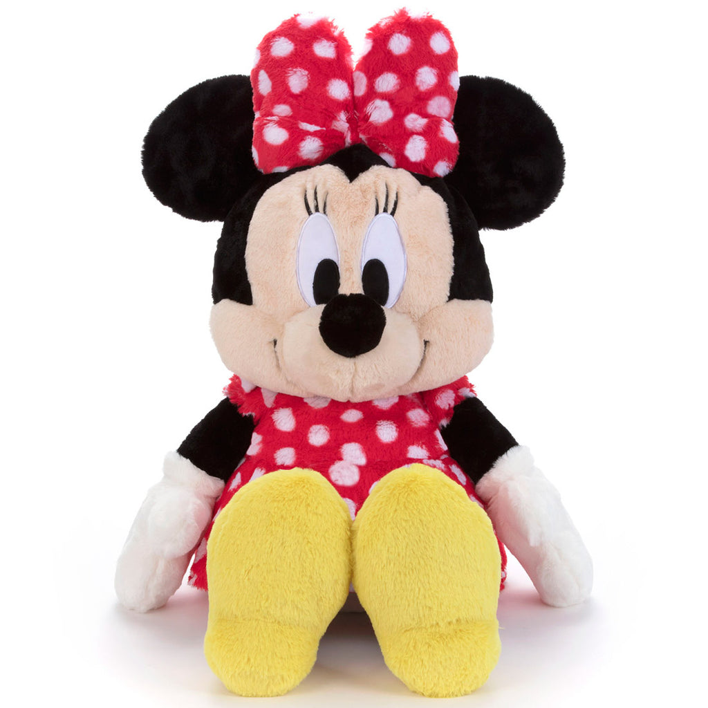 Minnie Fluffy Fuwanade Plush Doll L Disney Takara Tomy Japan
