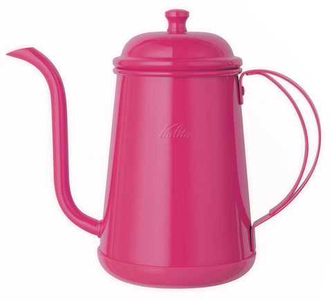 Stainless Narrow Mouth Pot Coffee Kettle 0.7L Cherry Pink 52194 Kalita Japan