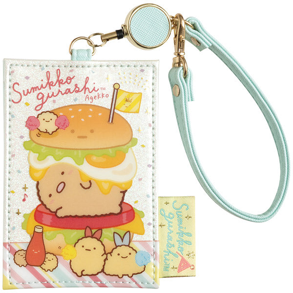 Sumikko Gurashi Pass Case Reel Cheer Ageage San-X Japan