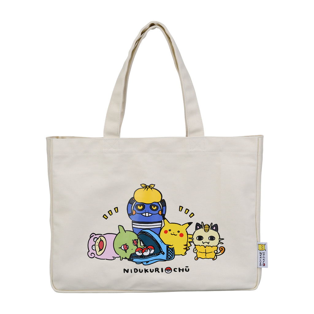 Tote Bag 24 Hours Pokemon CHU Pokemon Center Japan Original